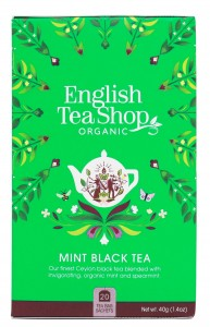 Herbata English Tea Shop Mint Black Tea 40g – 20 saszetek