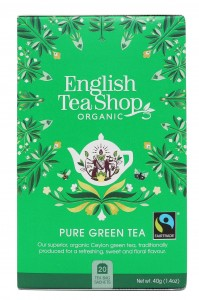 Herbata English Tea Shop  Pure Green Tea – 20 saszetek