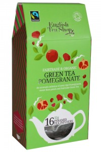 Herbata English Tea Shop  Green Tea Pomegranate 32g – 16 piramidek