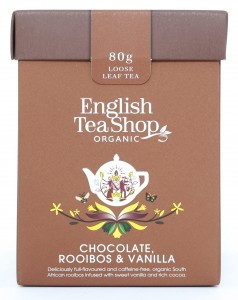 Herbata English Tea Shop Chocolate, Rooibos & Vanilla – herbata sypana 80g