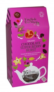 Herbata English Tea Shop Chocolate Super Berry Burst 32g – 16 piramidek