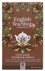 Herbata English Tea Shop Chocolate, Rooibos & Vanilla 40g  – 20 saszetek