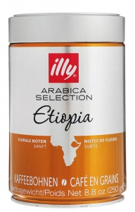 Kawa ziarnista Illy Arabica Selection Ethiopia 250g